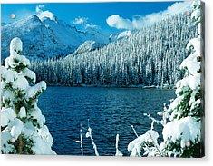 Bear Lake Acrylic Print by Eric Glaser