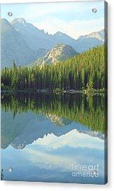 Bear Lake Estes Park Acrylic Print