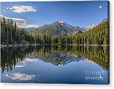Bear Lake Reflection Acrylic Print
