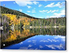 Bear Lake Reflection Acrylic Print