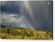 Bear Lake Storm Acrylic Print