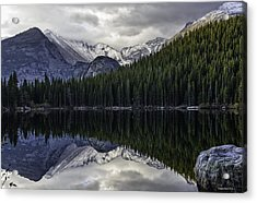 Bear Lake Acrylic Print by Tom Wilbert