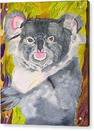 Koala Hug Acrylic Print