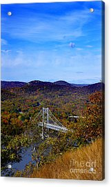Bear Mountain Bridge From Camp Smith Trail Acrylic Print
