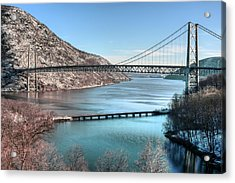 Bear Mountain Bridge Acrylic Print by JC Findley
