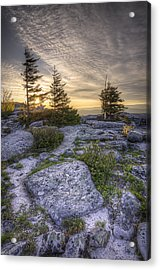 Bear Rocks Sunrise Acrylic Print by Michael Donahue