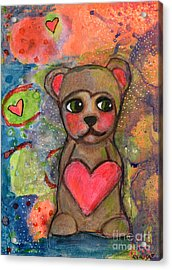 Bear With Me Acrylic Print