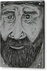 Bearded Man Acrylic Print by Paul Morgan