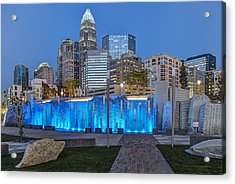Bearden Blue Acrylic Print by Chris Austin