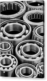 Bearings Acrylic Print by Jim Hughes