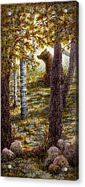 Bearly There Acrylic Print
