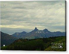 Beartooth Mountain Montana Acrylic Print by Jeff Swan