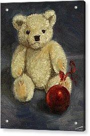 Beary Christmas Acrylic Print