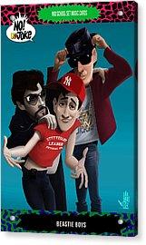 Beastie Boys Ntv Card Acrylic Print