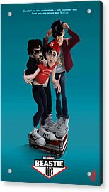 Beastie Boys_the New Style Acrylic Print by Nelson Dedos Garcia