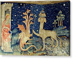 Beasts Of The Apocalypse Tapestry Acrylic Print by Photo Researchers