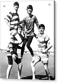 Beatle Beach Acrylic Print by Retro Images Archive