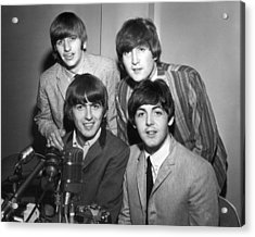 Beatle Interview Acrylic Print by Retro Images Archive