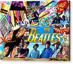 Beatles For Summer Acrylic Print