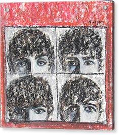 Beatles Hard Day's Night Acrylic Print