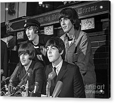 Beatles In Chicago Acrylic Print