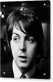 Beatles Paul Mccartney Acrylic Print