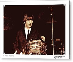Beatles Ringo Color Acrylic Print