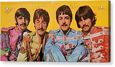 Beatles Sgt. Peppers Lonely Hearts Club Band Acrylic Print