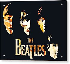 Beatles Acrylic Print by Trisha Buchanan