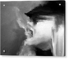 Beau Bella Sexy Smoke Acrylic Print by Sir Josef - Social Critic - ART