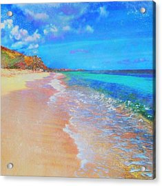 Beauregard Beach - Square Acrylic Print