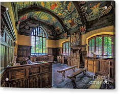 Beautiful 17th Century Chapel Acrylic Print by Adrian Evans