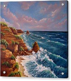 Beautiful Algarve Acrylic Print