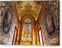 Beautiful Azorean Church Acrylic Print by Gaspar Avila