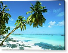 Beautiful Beach Resort Acrylic Print by Phototalk