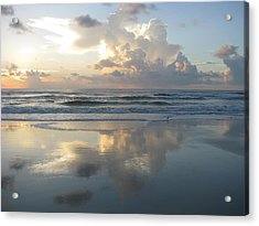 Beautiful Beach Sunrise Acrylic Print