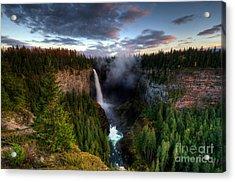 Beautiful British Columbia Acrylic Print by Bob Christopher