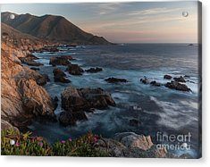 Beautiful California Coast In Spring Acrylic Print