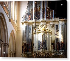 Acrylic Print featuring the photograph Beautiful Church Interior by Michael Edwards