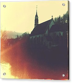 Beautiful Church  Acrylic Print