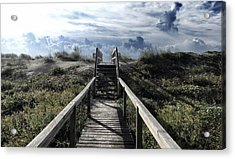 Beautiful Day At Cape Hatteras Acrylic Print by Patricia Januszkiewicz