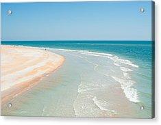 Beautiful Day At Matanzas Inlet Acrylic Print
