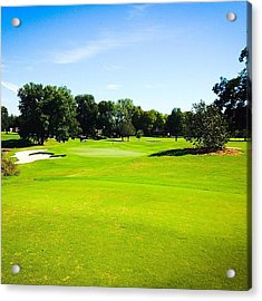 Beautiful Day For Golf!! Acrylic Print