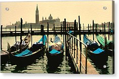 Acrylic Print featuring the photograph Beautiful Day In Venice by Brian Reaves