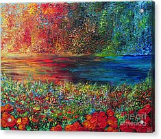 Beautiful Day Acrylic Print by Teresa Wegrzyn