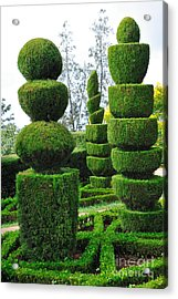 Beautiful Decorative Green Park Acrylic Print by Boon Mee