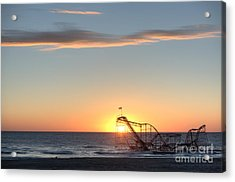 Beautiful Disaster Acrylic Print by Michael Ver Sprill