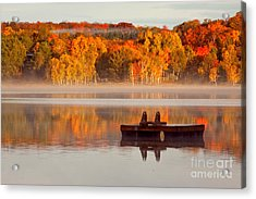 Beautiful Ending To A Great Summer Acrylic Print