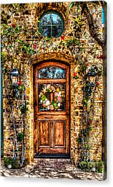 Acrylic Print featuring the photograph Beautiful Entry by Jim Carrell