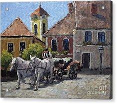 Beautiful European Town Szentendre Acrylic Print